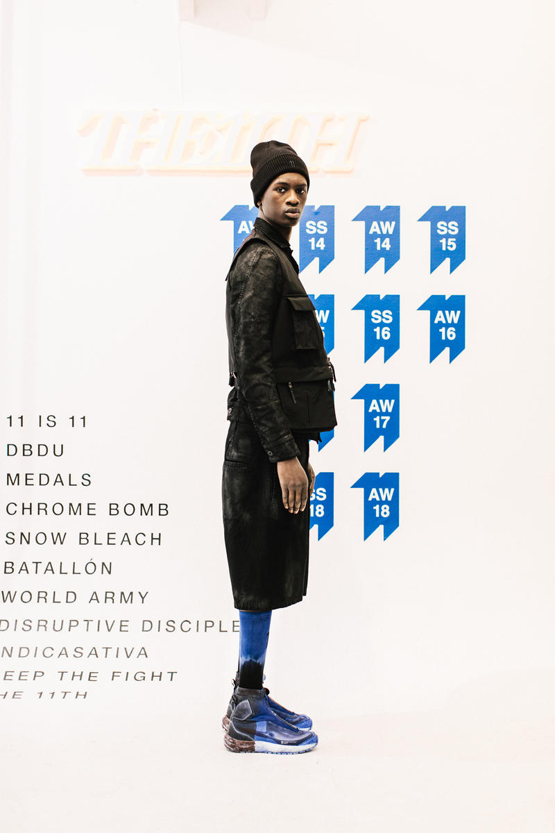 11 by Boris Bidjan Saberi Fall Winter 2018 Collection Salomon ORTLIEB