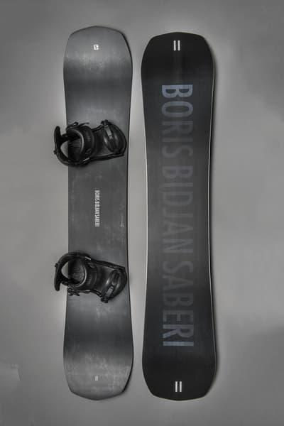 11 by boris bidjan saberi salomon snowboards fall winter 2018 limited edition black white