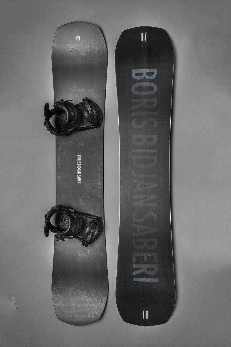 11 by boris bidjan saberi salomon snowboards fall winter 2018 limited edition black white