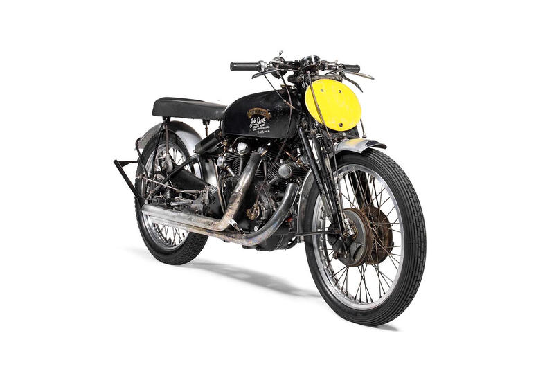 1951 Vincent Black Lightning Motorcycle Bonhams Auction