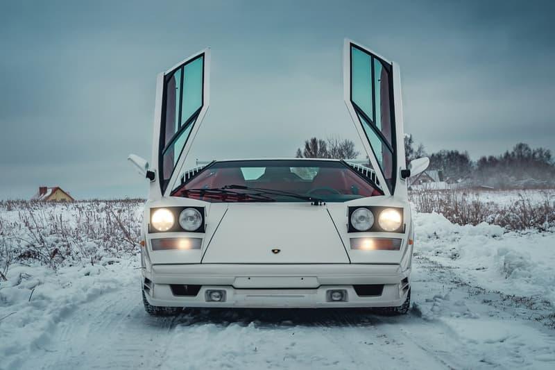 1991 Lamborghini Countach 25th Anniversary Price Hypebeast