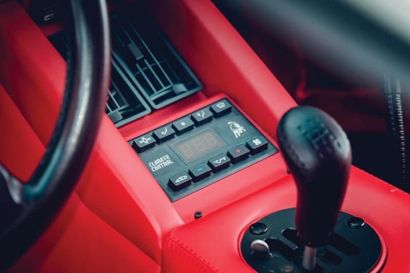 1991 Lamborghini Countach 25th Anniversary Auction RM Sothebys White