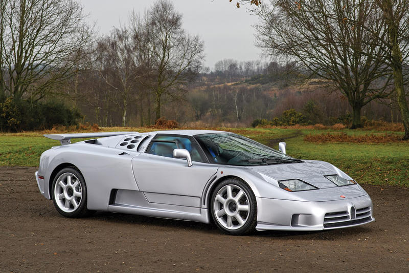 1993 Bugatti EB 110 Super Sport Prototype Auction 2018 January RM Sothebys Rare Car Supercar Silver Collection
