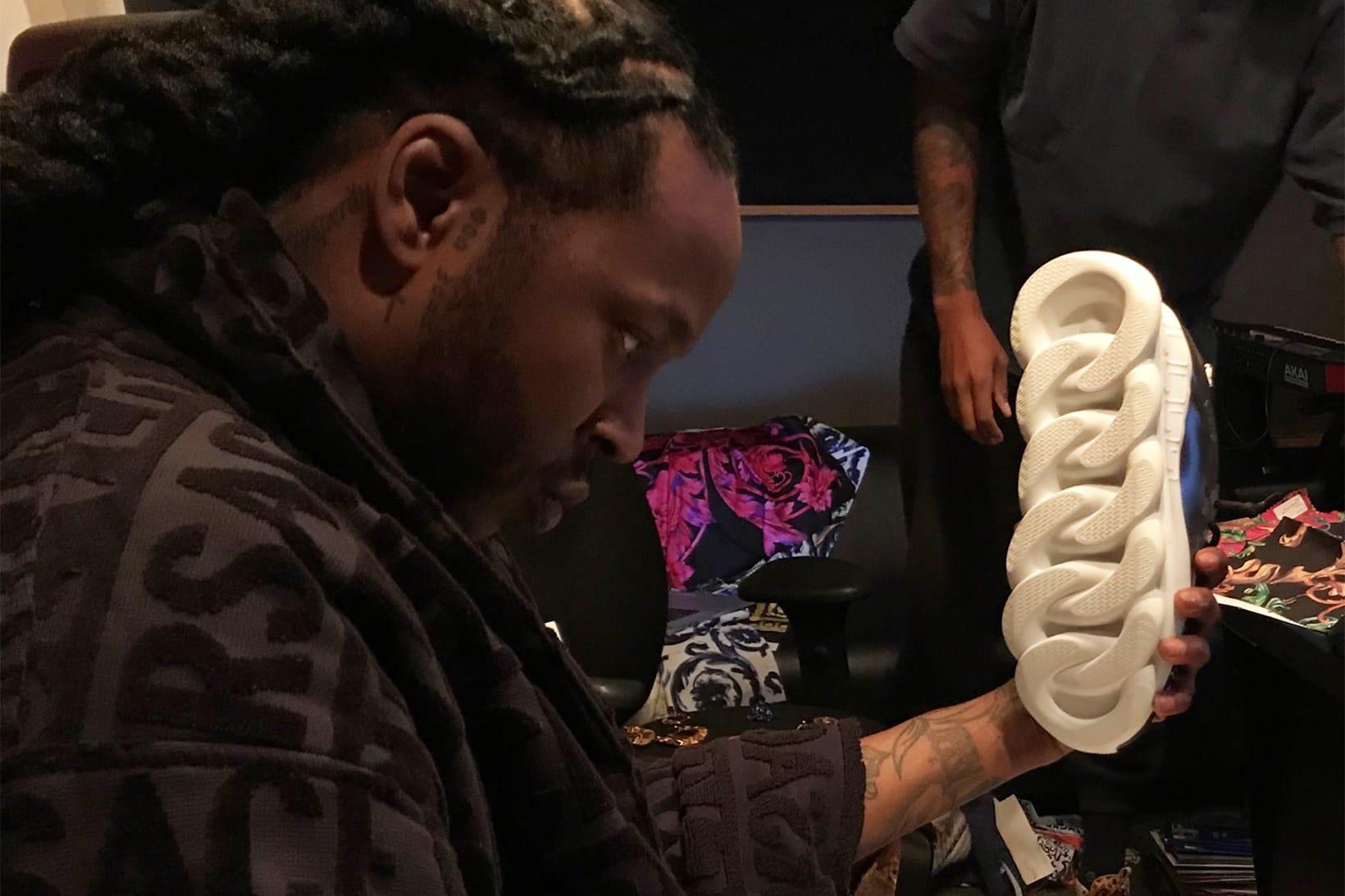 2 Chainz Teases Versace Sneaker