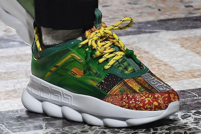 2 Chainz Versace Chain Reaction Sneaker Release Date Milan Fashion Week