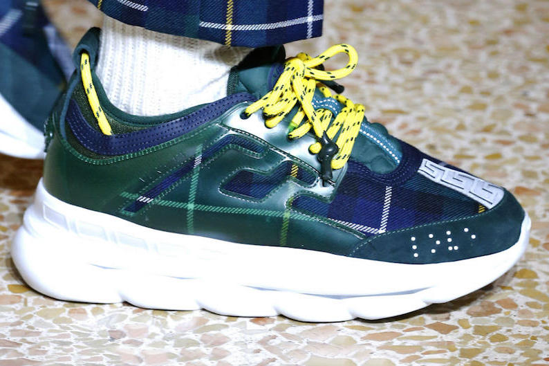 2 Chainz Versace Chain Reaction Sneaker Release Date Milan Fashion Week