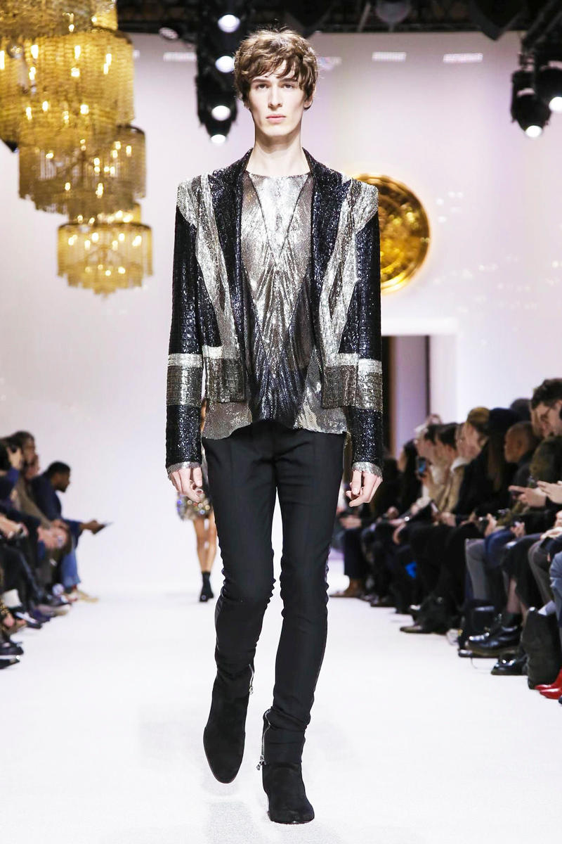 Balmain 2018 Fall/Winter Collection paris fashion week men's 2018 fall winter