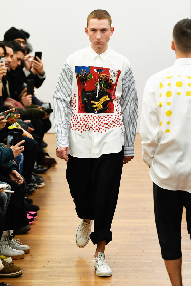 COMME des GARÇONS Shirt Fall/Winter 2018 Show Collection Menswear Paris Fashion Week