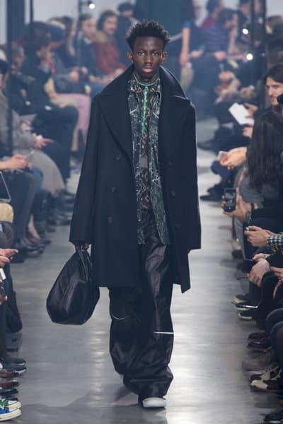 Lanvin 2018 Fall/Winter Collection paris fashion week men's 2018 fall winter