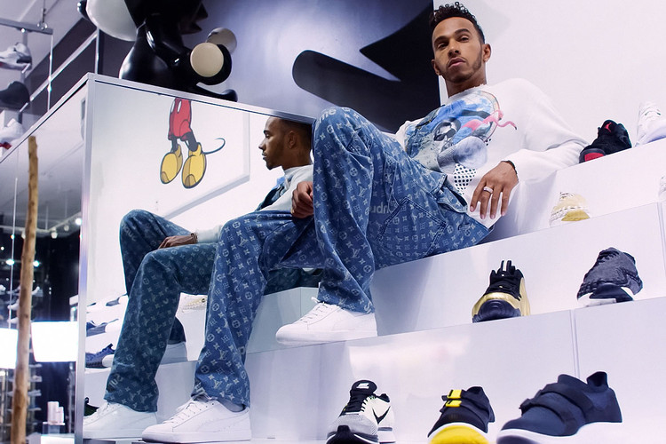 af13e50bfd6 Lewis Hamilton Talks Jerry Lorenzo   Working With PUMA on  Sneaker Shopping