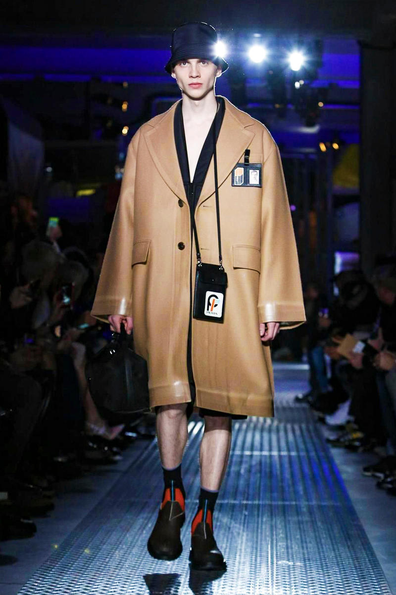 Prada 2018 Fall/Winter Collection milan fashion week men's 2018 fall winter