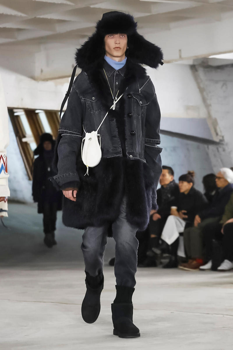 Sacai 2018 Fall/Winter Collection paris fashion week men's 2018 fall winter