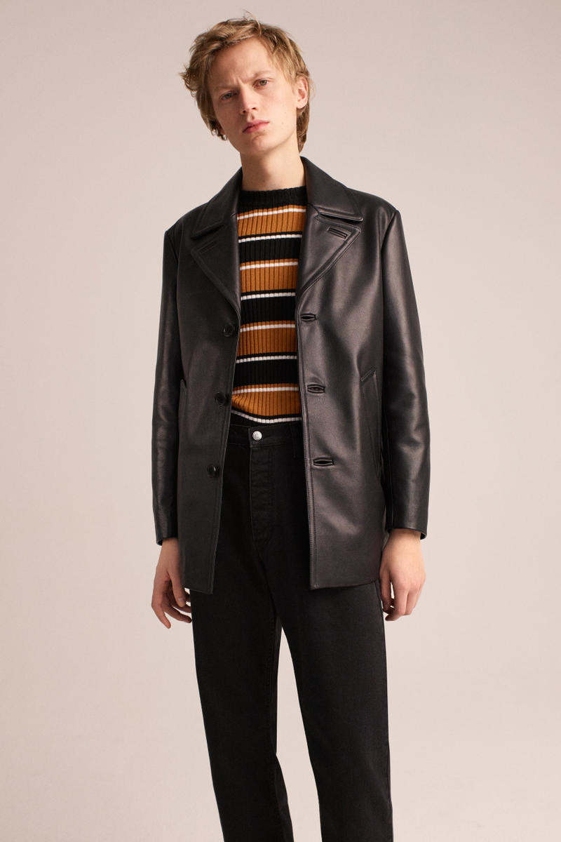 Sandro Homme 2018 Fall Winter Collection Paris Fashion Week Lookbooks
