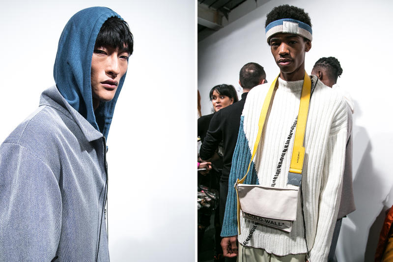 A-COLD-WALL* Fall/Winter 2018 Backstage London Fashion Week: Men's