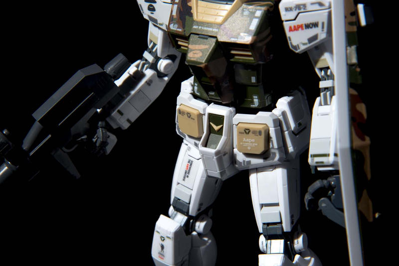 BAPE & AAPE x Gundam Bandai Collaborate on Toys