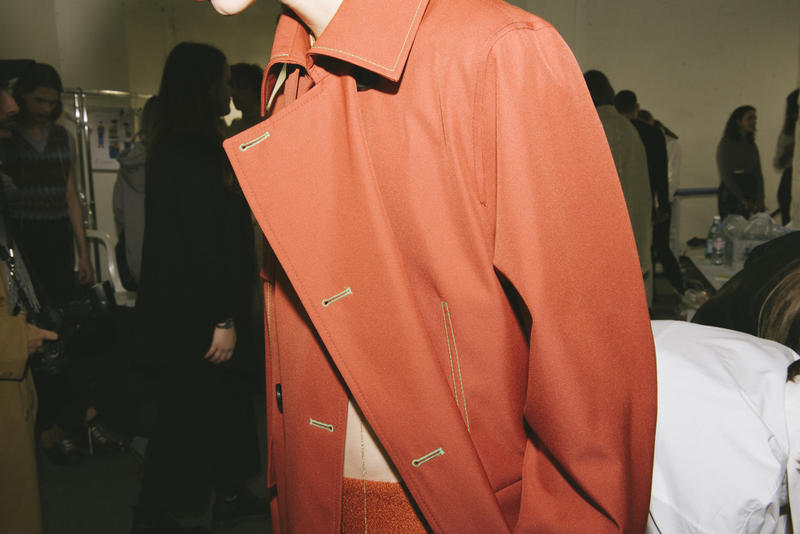 Acne Studios Fall Winter 2018 Backstage Collection Paris Fashion Week Mens Menswear