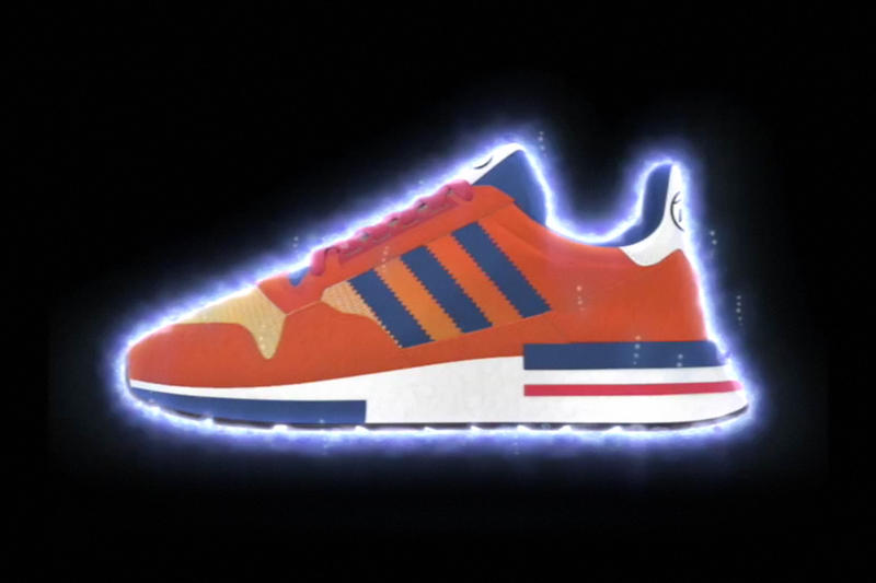 "Dragon Ball Z adidas ZX 500 RM ""GOKU"" Collaboration Teaser Sneaker"