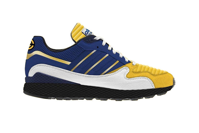 pretty nice 8c464 76597 Dragon Ball Z adidas Collaboration Leak Vegeta Shenron Gohan