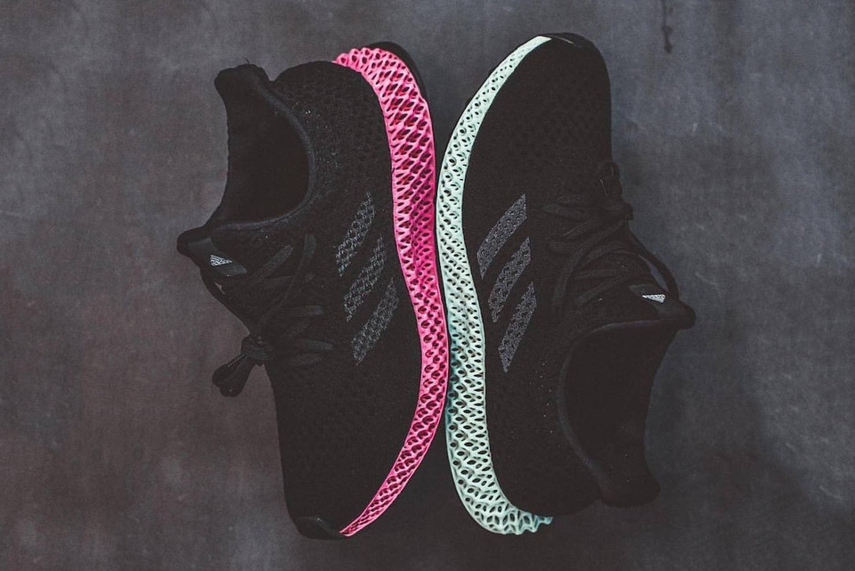 more photos f4f04 32fe1 The adidas Futurecraft 4D Welcomes Pink to Its Innovative Midsole. The  Futurecraft is now. adidas Futurecraft 4D pink black Primeknit footwear