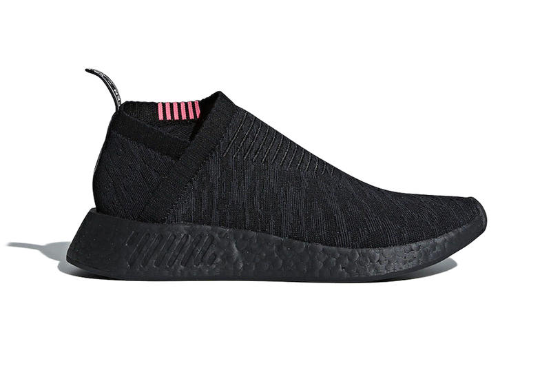 adidas NMD CS2 Triple Black Pink March 2018 Release