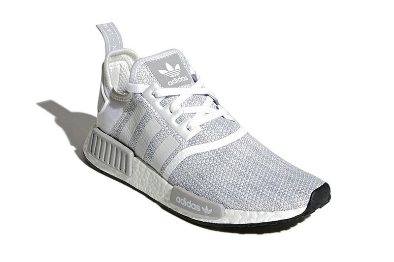 adidas NMD R1 Blizzard White Grey February 2018 Release