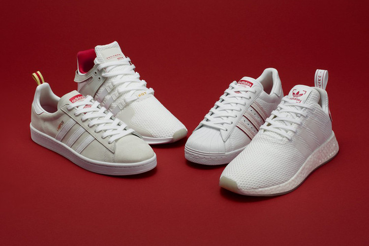 best service 240d4 f7fbf adidas Originals Presents 2018 Chinese New Year Pack