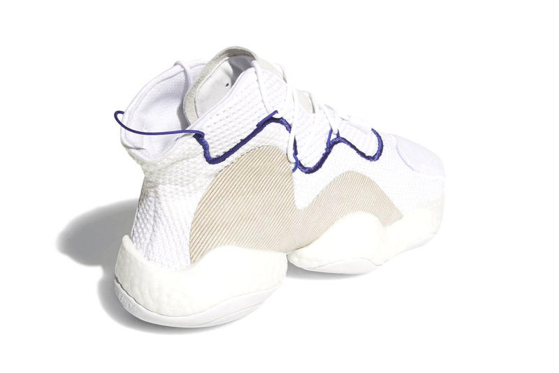 adidas Originals Crazy BYW LVL 1 white release date March 1 Sneakers Shoes Footwear