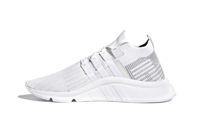 adidas Originals EQT Support ADV Mid White Grey Spring 2018 release