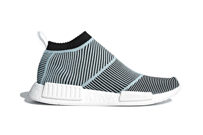 8aa7c176c adidas Originals   Parley Unveil NMD City Sock sneaker soles new street mens  kicks light blue