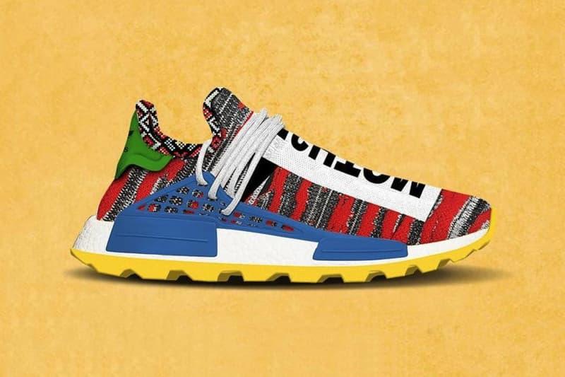 "adidas x Pharrell ""Afro"" Hu NMD First Look pharrell williams yeezy mafia"