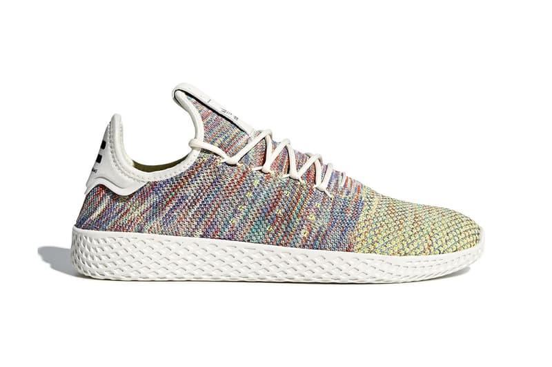 adidas Originals Pharrell Williams Tennis Hu Multicolor Release Info Date Drops Sneakers