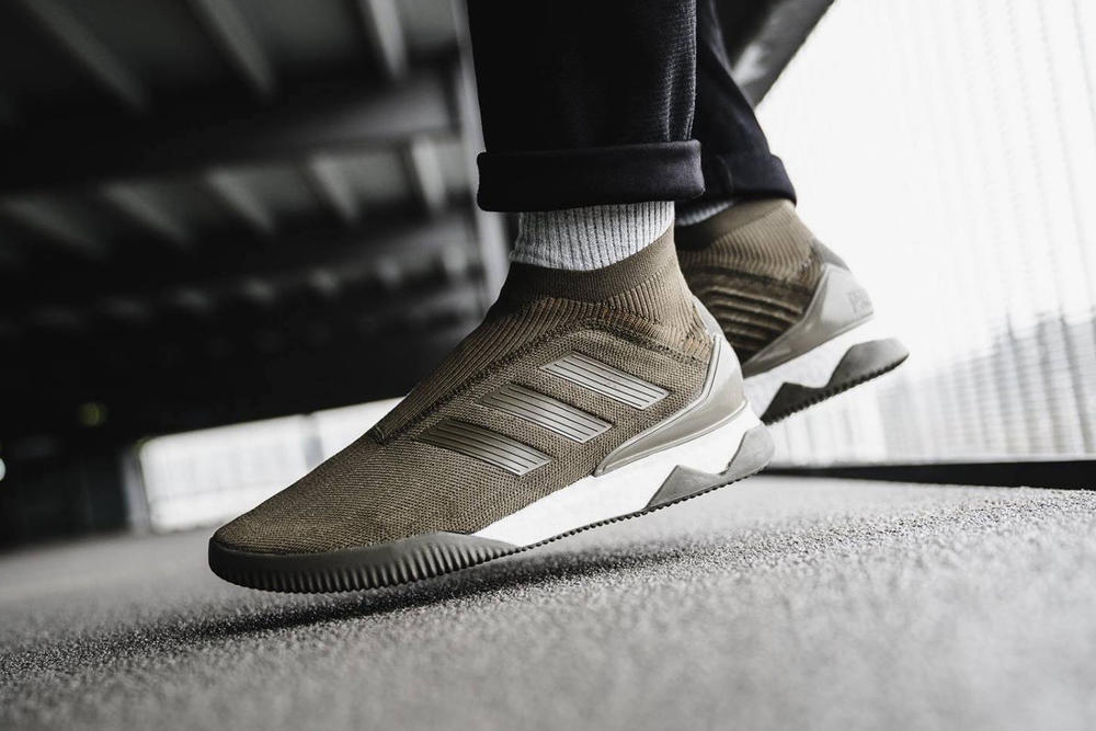 adidas Predator Tango 18+ BOOST Trace Olive January 5 2018 release soccer