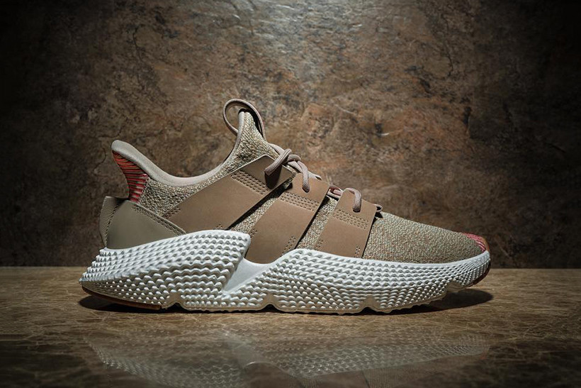 newest 74584 26ee9 The adidas Prophere Cleans up with a New Tan Colorway