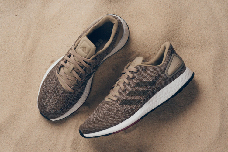 8c3318a08 adidas PureBOOST DPR Refreshes in Tan and Black · Footwear