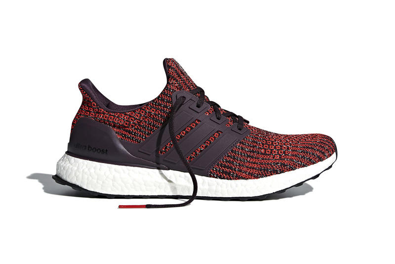 adidas UltraBOOST 4 0 Maroon Orange Burgundy 2018 February Release Date Info Sneakers Shoes Footwear