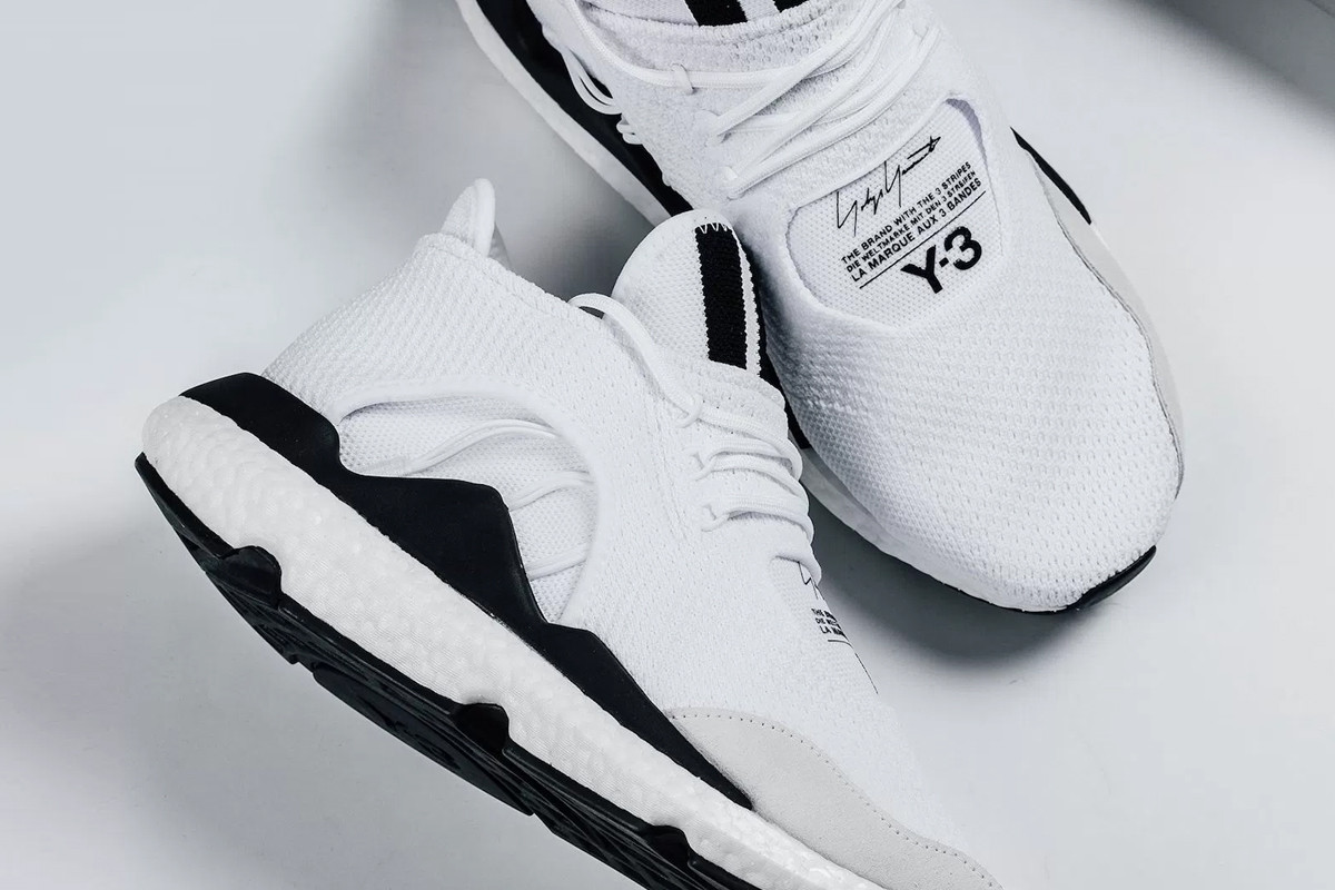 adidas Y-3 Saikou BOOST in White Closer