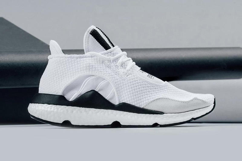 e0799afc83380 A Closer Look at the adidas Y-3 Saikou BOOST in White