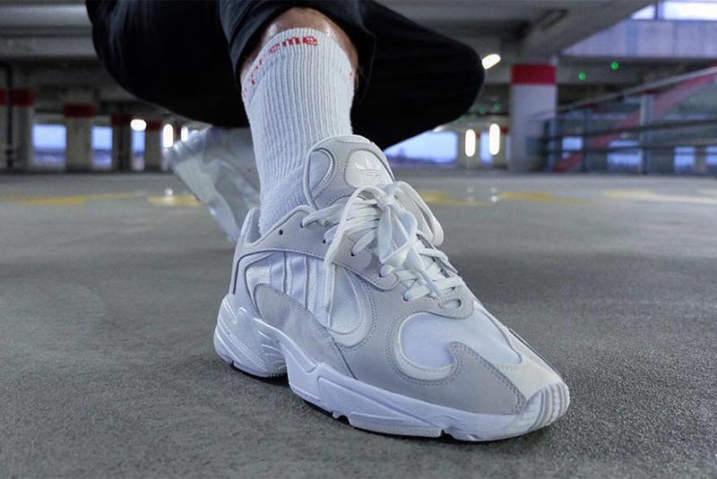 1d729e601ef adidas Originals Yung 1 White/Grey On-Feet Look | HYPEBEAST