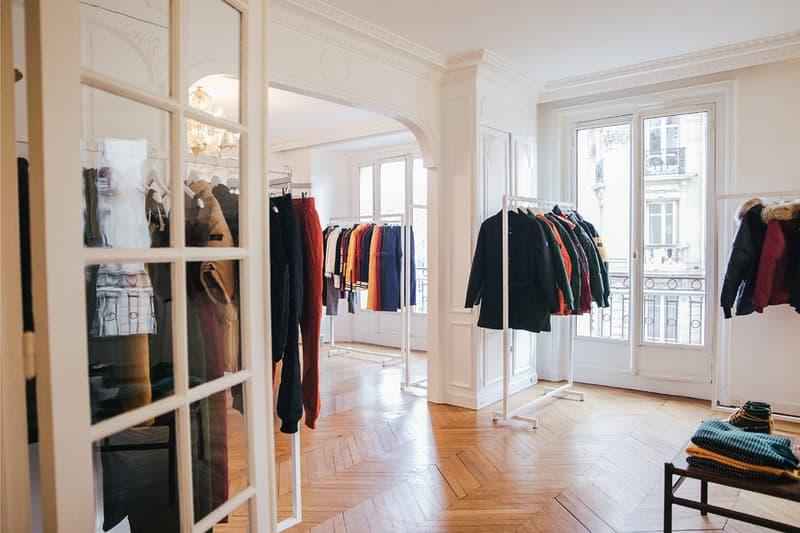 Aimé Leon Dore Fall Winter 2018 Showroom Paris Fashion Week