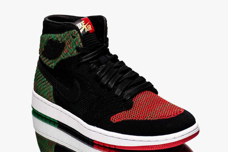 37d99f3a5845d Air Jordan 1 Flyknit BHM Black History Month Closer Look february 2018  release