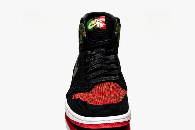 Air Jordan 1 Flyknit BHM Black History Month Closer Look february 2018 release