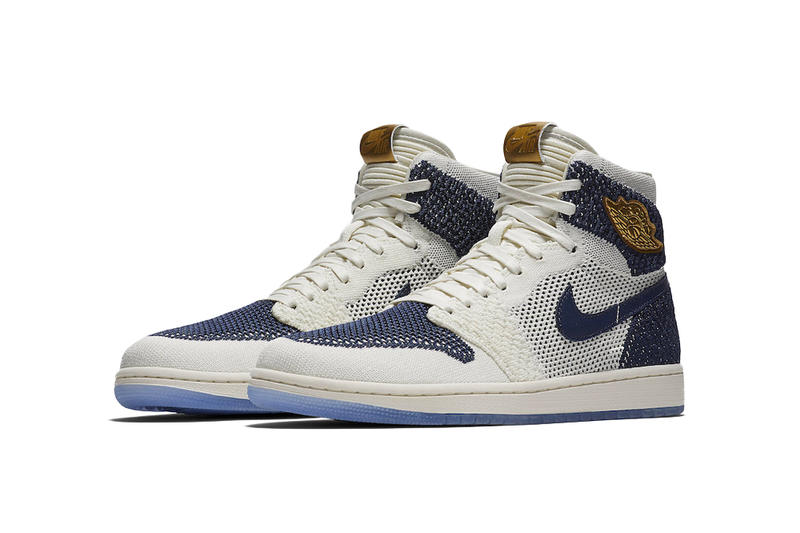 Air Jordan 1 Flyknit RE2PECT Derek Jeter New York Yankees