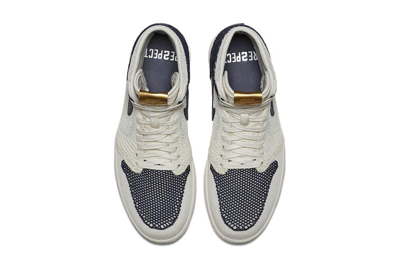 Air Jordan 1 Flyknit RE2PECT Derek Jeter New York Yankees