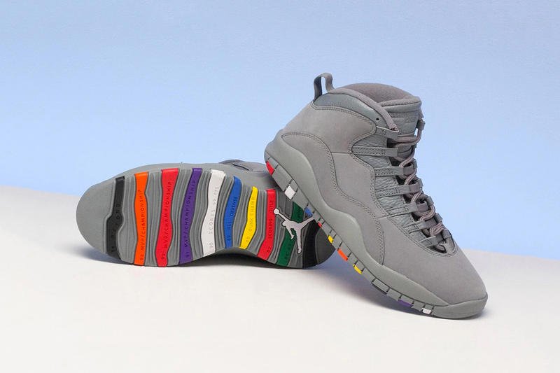 5eba9ff60841 Air Jordan 10 cool grey retro michael finals 2018 january 27 nike release  date info drop