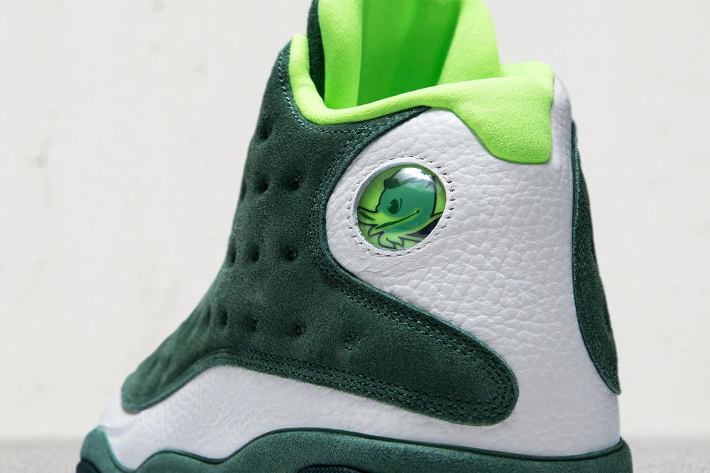 Air Jordan 13 Oregon Friends and Family basketball football footwear Jordan Brand