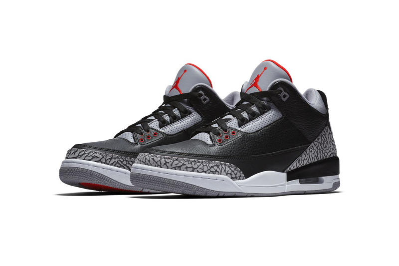 Air Jordan 3 Black Cement Official Images Jordan Brand release date info drops February 17 2018
