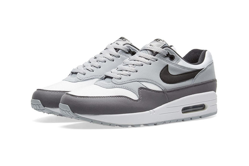 cheap for discount 58b2b 3b0e2 Nike Air Max 1 Wolf Grey END Clothing 2018 anniversary January Release Date Info  Sneakers Shoes