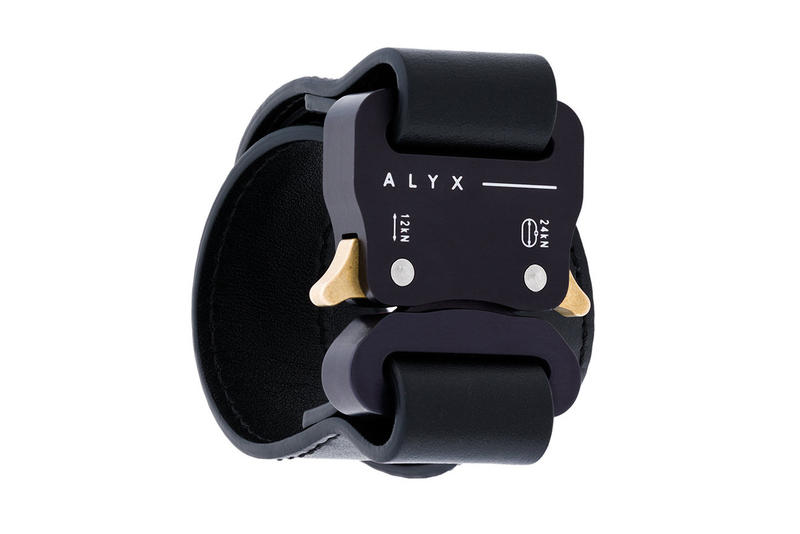 ALYX Buckled Bracelet black fashion accessories