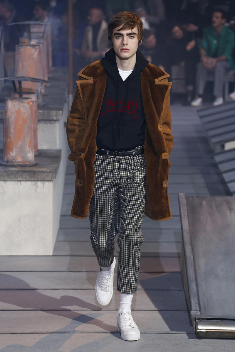 AMI Alexandre Mattiussi 2018 Fall Winter Collection paris fashion week mens runway pfw pfwm