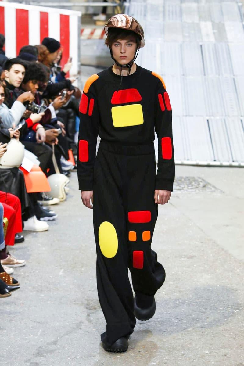 Angus Chiang Menswear 2018 Fall Winter Collection Runway Paris Fashion Week Mens